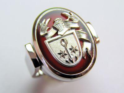 Wappenring 750 Gelbgold Karneol